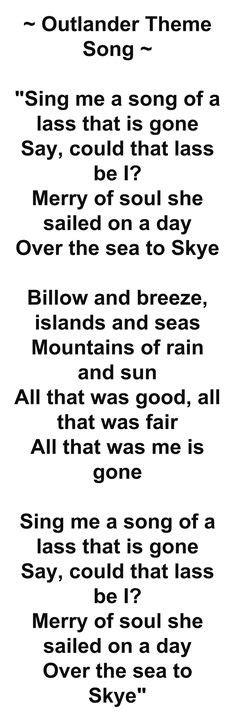 theme song to outlander outlander on pinterest jamie fraser diana gabaldon and