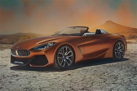 first bmw bmw concept z4 first look motor trend