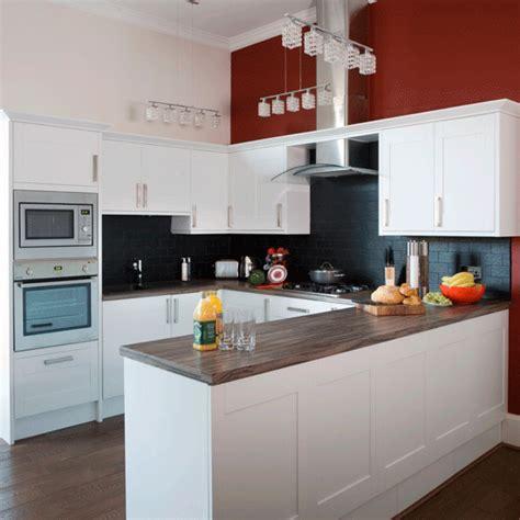 Kitchen Feature Wall Ideas by Bold Kitchen Scheme Kitchens Kitchen Ideas Image