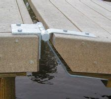 boat dock supply dock supply gangway hinge setup the great outdoors