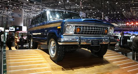 old jeep models classic jeep wagoneer could be geneva s coolest suv