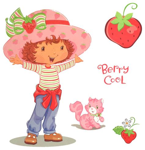 strawberry shortcake wall stickers strawberry shortcake accent berry cool self stick decals