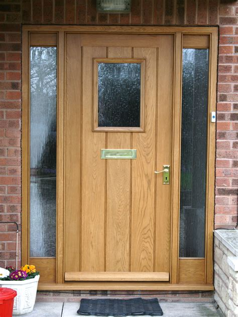 Hardwood Door Frames Exterior Front Doors Enchanting Oak Front Doors And Frame New Wooden Front Door And Frame Oak Front