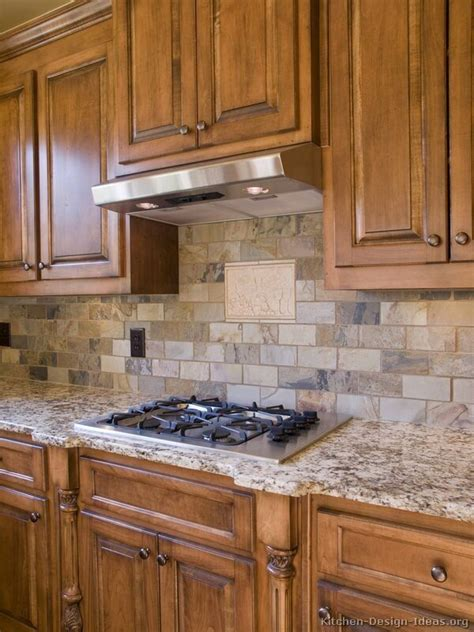 Kitchens Backsplashes Ideas Pictures Brick Backsplash Like The Light Colors And Shades Of Gray Don T Like The Black Mixed With It