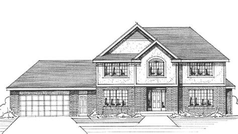 house plan front view house plans with front view escortsea