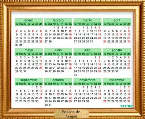 Calendario Por Dia 2017 Enmarcamos Los Calendarios De Festivos De 2017 Por