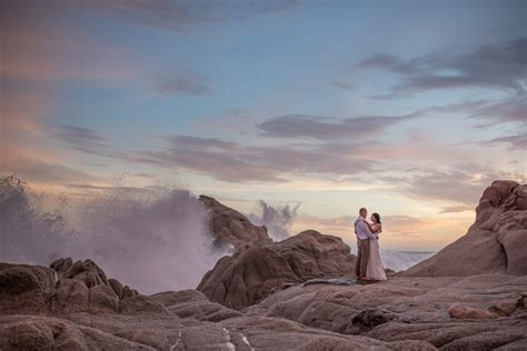 intimate elegant wedding  villa clara vista cabo san