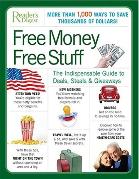 Free Money Giveaways - free money free stuff the indispensable guide to deals steals giveaways by reader