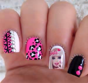 barbie nail art page 22 funnystack com