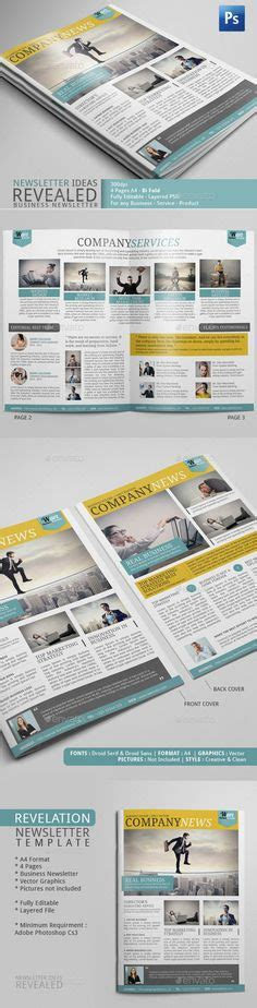 newsletter templates for adobe photoshop 1000 images about newsletter exles adobe photoshop