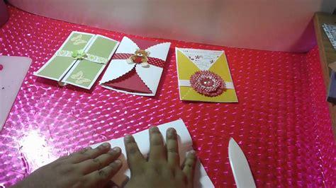 2 tarjetas 3d facil toda ocasion youtube 3 tarjetas sobre pop open scrapbook facil y original youtube