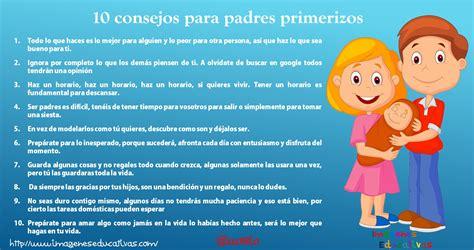 imagenes reflexivas para padres 10 consejos para padres primerizos imagenes educativas