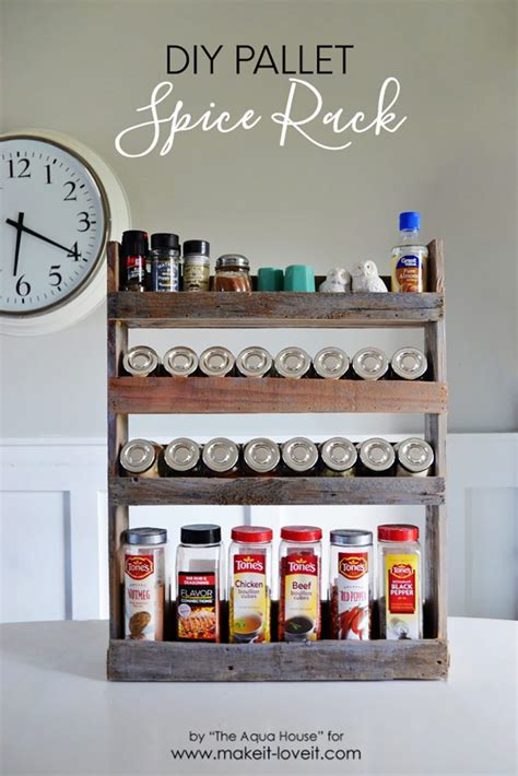 diy spice rack diy project aholic 34 wood craft projects for 10 great for craft make it and it