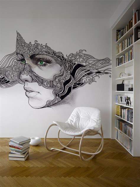 wall painting designs for bedroom modern wall dcor ideas for bedroom home interior design