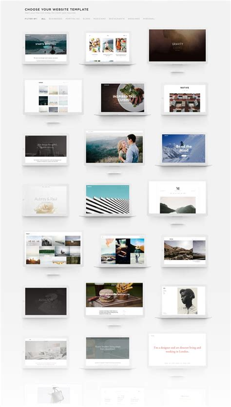 Squarespace One Page Template Choice Image Template Design Ideas Squarespace Maple Template