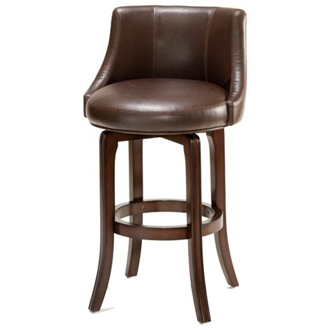 doyle counter stool brown dcg stores napa valley 25 quot swivel counter stool cherry brown