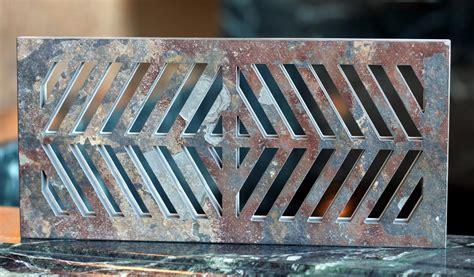 Water Heat Registers Waterjet Fabrications Center Portland Or