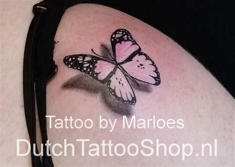 tattoo 3d vlinder zwart roze 3d vlinder schouder tattoo jpg 827 215 592