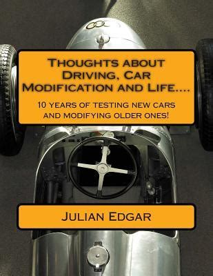 Car Modification Books by Thoughts About Driving Car Modification And