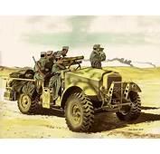 Italian 65mm Mounted On A Captured British Morris C8 Truck