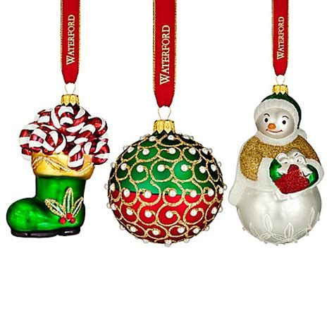 waterford mini heirloom ornaments waterford 174 2016 heirlooms nostalgic ornament collection www bedbathandbeyond