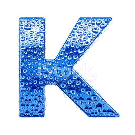 blue alphabet symbol letter k stock photos freeimages.com