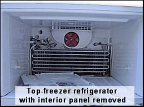 whirlpool refrigerator evaporator fan not working appliance411 faq how does a free refrigerator s