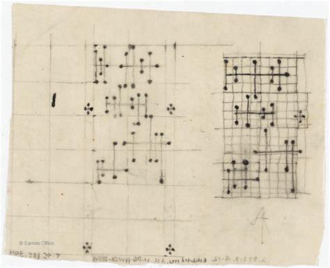 eames dot pattern history dot pattern drawings eames office