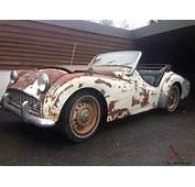 Triumph TR3 1959 LHD  Restoration Project
