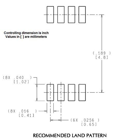 soic 8 footprint dimensions lp3981 footprint linear regulators forum linear