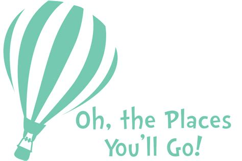 oh the places youll go oh the places you ll go decal