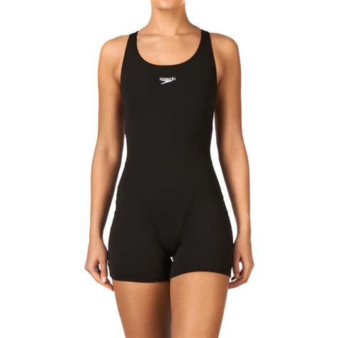speedo maillot de bain speedo myrtle legsuit swimsuit black free uk delivery