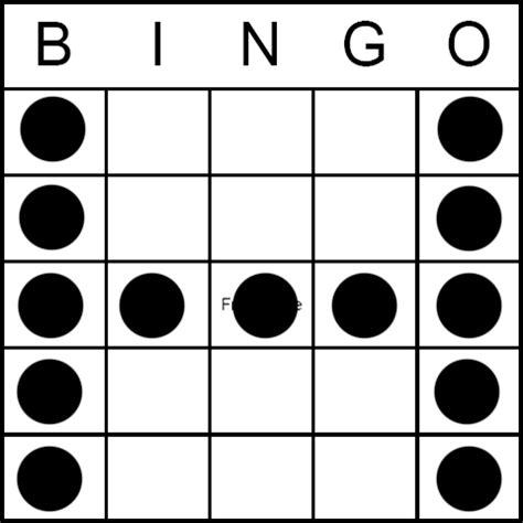 h pattern image bingo game pattern letter h