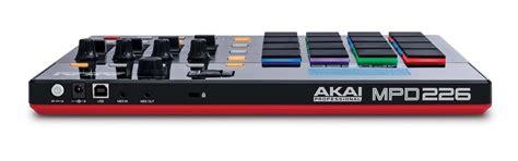 Pad Controller Akai Mpd 218 Akai Mpd 32 Akai Apc 40 akai pro updates mpd218 mpd226 and mpd232 djworx