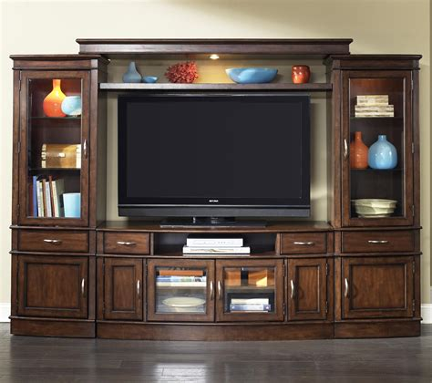 Wall Mounted Shelves by Complete Tv Entertainment Center By Liberty Furniture