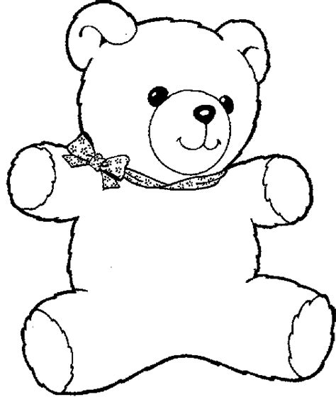 coloring pages printable teddy bear teddy bear cartoon for coloring search results