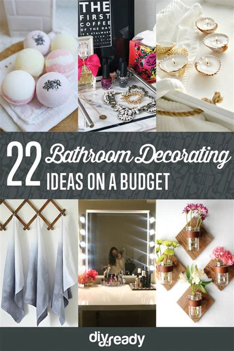 Bathroom Decor Ideas On A Budget by Diy Bathroom Decorating Ideas