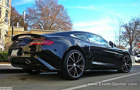 Aston Martin Carolina by Aston Martin Vanquish Spotted In Carolina
