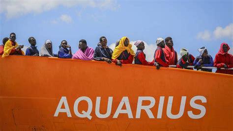aquarius dernier bateau aquarius clap de fin pour le dernier bateau de sauvetage