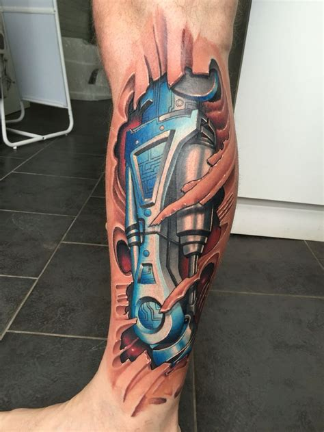 3d tattoo designs on leg best 25 robot ideas on minimalist