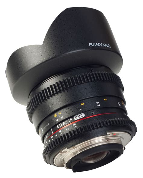 Gaslens 24mm Samyang Announces T1 5 35mm T1 5 24mm And T3 1 14mm Vdslr