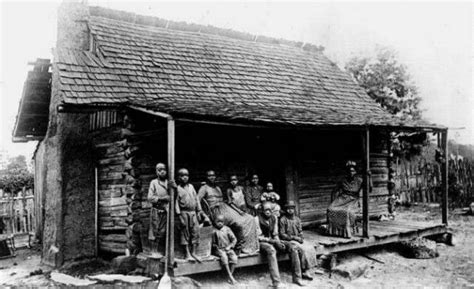 Comfort Slaves In The South by Many Slaves Were Forced To Stay In These Small Cabin Like