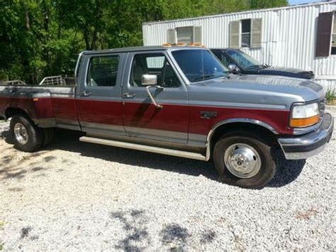 sell used 1995 ford f350 crew cab diesel with dually wheels in madison alabama united states