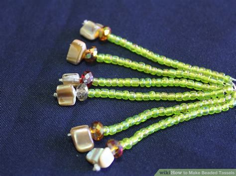 how to make a beaded tassel how to make beaded tassels 10 steps with pictures wikihow
