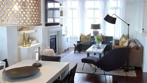 tiny living furniture concept interior design bright warm lakeside townhouse youtube