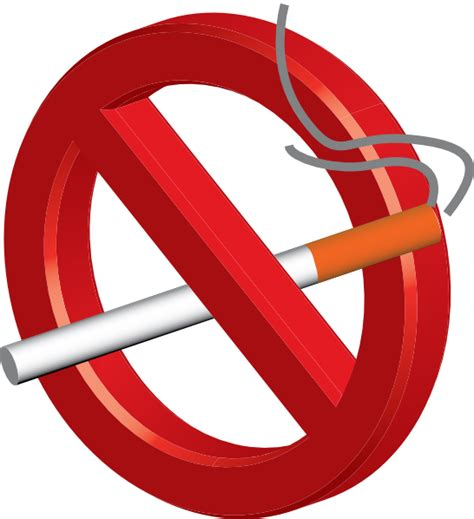 no smoking sign vector png no smoking 3d icon clip art at clker com vector clip art