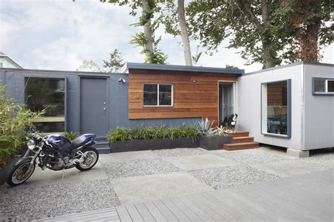 home design stores oakland jetson green two container backyard office in oakland