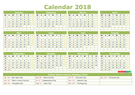 printable yearly calendar with holidays full year printable calendar 2018 with holidays in us