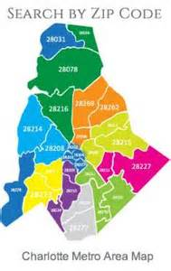 Zip Code Map Of Charlotte Nc by What Is Charlotte Nc Zip Code Questions And Answers