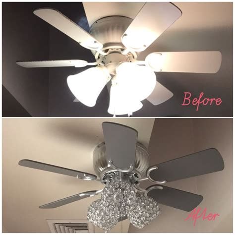 how to paint a ceiling fan best painted ceiling fans ideas on